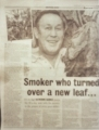 Click here to see some of the press articles about us and our tobacco seeds
